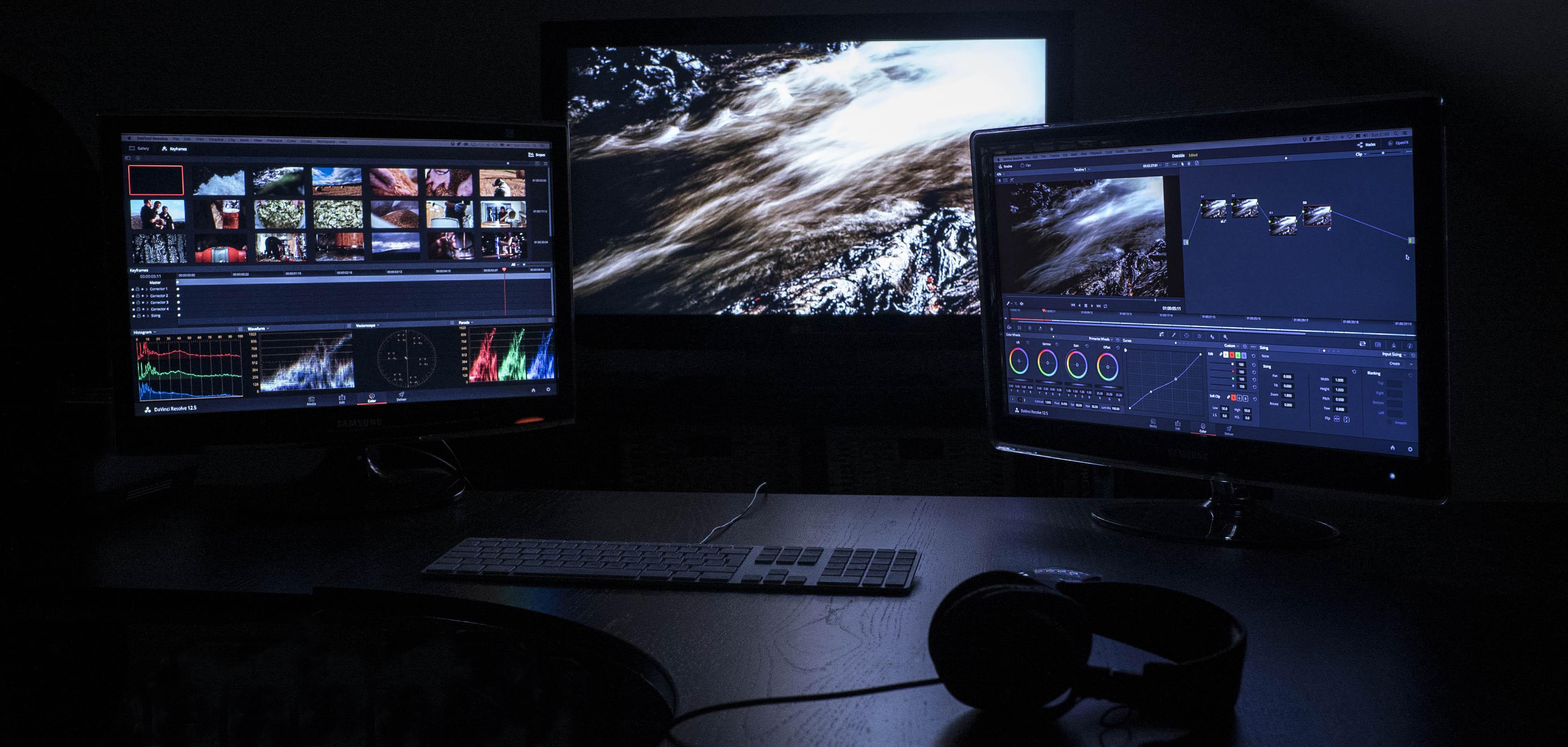flux video grading suite
